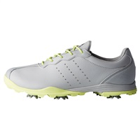 Adidas Ladies Adipure DC Shoes Grey/Silver Metallic/Semi Frozen Yellow 2018