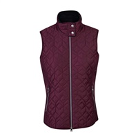 Daily Sports Ladies Milla Wind Vest Wine 2018