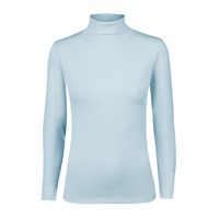 Daily Sports Ladies Maggie Long Sleeve Roll Neck Dove 2018