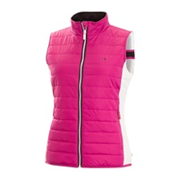 Calvin Klein Golf Ladies Padded Windbreaker Gilet Foxglove 2018