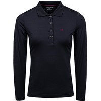 Calvin Klein Golf Ladies Stableford Polo Black 2018