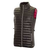 Green Lamb Ladies Jillian Core Padded Gilet Black 2018