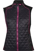 Proquip Ladies Therma Tour Ava Quilted Gilet Black 2018