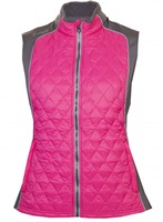 Proquip Ladies Therma Tour Ava Quilted Gilet Pink 2018