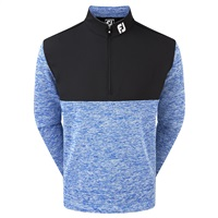 FootJoy Chill-Out Xtreme Hybrid Pullover Heather Marine/Black 2018