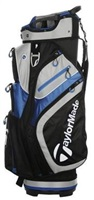 TaylorMade 2.0 Cart Bag Black/Blue