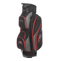 Powakaddy Deluxe Edition Bag Black/Gunmetal/Red