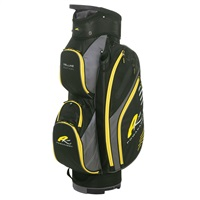 Powakaddy Deluxe Edition Bag Black/Gunmetal/Yellow