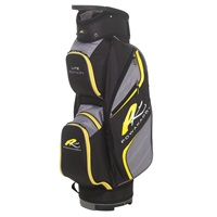 Powakaddy Lite Edition Bag Black/Gunmetal/Yellow