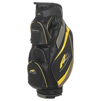 Powakaddy Premium Edition Bag Black/Gunmetal/Yellow