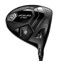Cobra King F8 Driver Black Aldila NV 2KXV Blue 60 Graphite Shaft Left Hand 2018