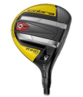 Cobra King F9 SpeedBack Fairway Wood Black/Yellow - Custom Fit