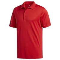 Adidas Performance Red Corporate Polo Shirt