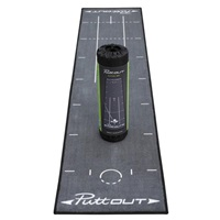 Puttout Deluxe Putting Mat Grey