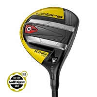 Cobra King F9 SpeedBack Fairway Wood Black/Yellow Graphite Shaft