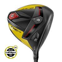Cobra King F9 SpeedBack Driver Black/Yellow HZRDUS Smoke 60 Graphite Shaft 2019