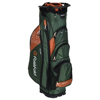 Fast Fold 10 Inch Cart Bag Black/Cognac 2019