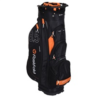 Fast Fold 10 Inch Cart Bag Black/Orange 2019