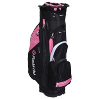 Fast Fold 10 Inch Cart Bag Black/Pink/Grey/White 2019
