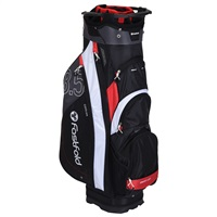 Fast Fold 10 Inch Cart Bag Black/Red/White/Light Grey 2019