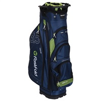 Fast Fold 10 Inch Cart Bag Navy/Green 2019