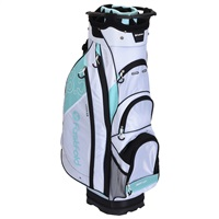Fast Fold 10 Inch Cart Bag White/Light Blue/Black 2019