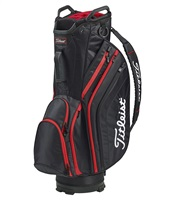 Titleist Lightweight Cart Bag Black/Black/Red 2019