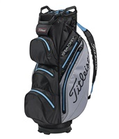 Titleist StaDry Cart Bag Black/Sleet/Process Blue 2019