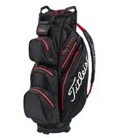 Titleist StaDry Cart Bag Black/White/Red 2019