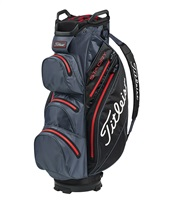 Titleist StaDry Cart Bag Charcoal/Black/Red 2019