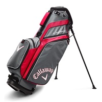 Callaway X Series Stand Bag Red/Titanium/White