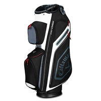 Callaway Chev Organiser Cart Bag Black/Titanium/White 2019