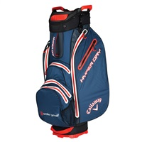 Callaway Hyper Dry Cart Bag Navy/Titanium/Orange 2019