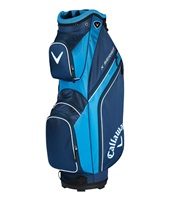 Callaway X Series Cart Bag Navy/Royal/White