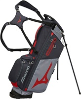 Mizuno BR-D3 Stand Bag Grey/Red 2019