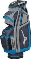 Mizuno BR-D4 Cart Bag Grey/Blue 2019