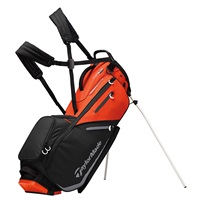 TaylorMade FlexTech Stand Bag Blood Orange/Black