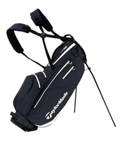 TaylorMade FlexTech Waterproof Stand Bag Gray/White