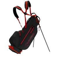 TaylorMade LiteTech Waterproof Stand Bag Black/Red 2019