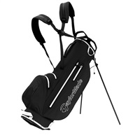 TaylorMade LiteTech Waterproof Stand Bag Black/White 2019