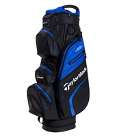 TaylorMade Deluxe Waterproof Cart Bag Blood Black/Blue