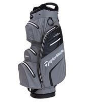 TaylorMade Deluxe Waterproof Cart Bag Blood Gray/Black 2019