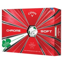 Callaway Chrome Soft Truvis Golf Balls Shamrock