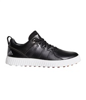 Adidas Junior Adicross PPF Shoes Core Black/Silver Metallic/Gum