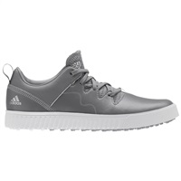 Adidas Junior Adicross PPF Shoes Grey Three/Silver Metallic/White
