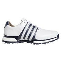 Adidas Tour360 XT Shoes Cloud White/Collegiate Navy/Silver Metallic