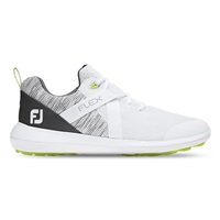 FootJoy Flex Golf Shoes - White/Grey