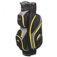 Powakaddy Deluxe Edition Cart Bag Black/Yellow