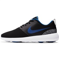 Nike Golf Roshe G Mens Golf Shoes Black/Game Royal/White