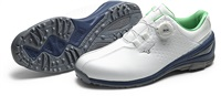 Mizuno Nexlite Boa 006 Golf Shoes White/Blue/Green